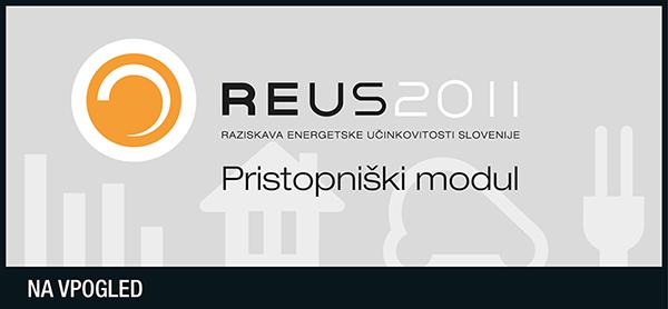 Raziskava REUS 2011