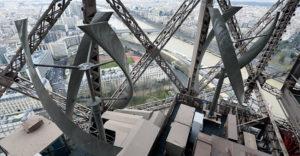 Ob 125 letnici je Eifflov stolp postal vetrna elektrarna