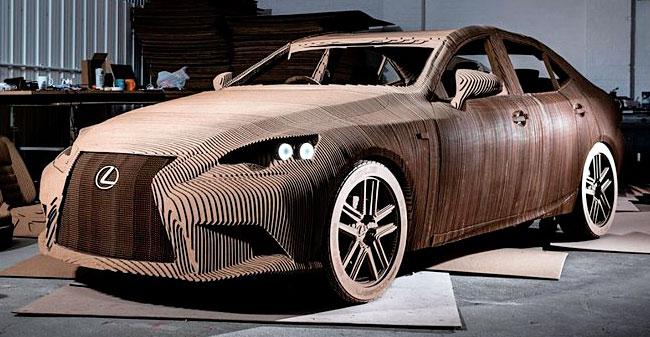 Električni avto iz kartona