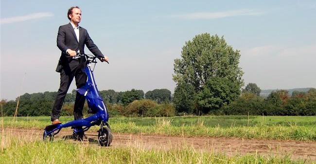 Električno kolo za svobodo misli in telesa
