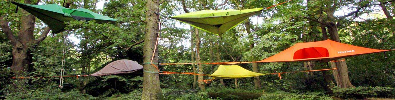 Viseča mreža oz. nenavaden šotor za posebna doživetja