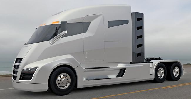 Hibridni tovornjak: Po »Tesla Motors« prihaja še »Nikola Motor Co.«