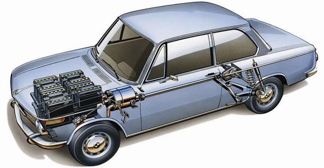 Električni BMW iz 1972