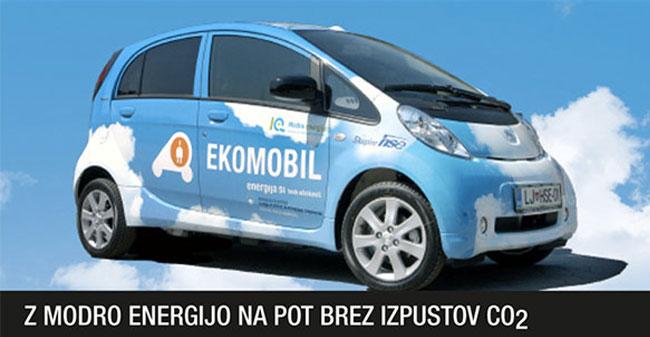 Eko-mobil - Električni avto, ki ga poganja elektrika iz obnovljivih virov / Pozitivna energija