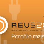 Raziskava REUS 2012