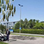 Nove veterne turbine z izgledom drevesa