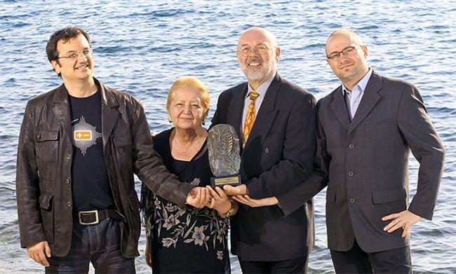 Porabi manj / Branko Baćović, Olivera Baćović Dolinšek, Rajko Dolinšek, Danijel Trstenjak (Foto: Irena Herak/Finance)
