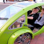 Solarni fitnes na treh kolesih
