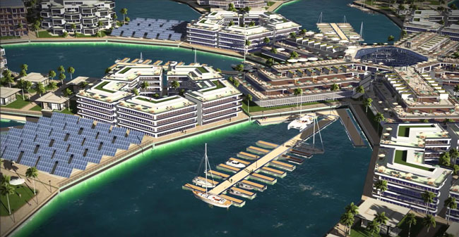 """Plavajoče mesto: Koper bi lahko bil popolnoma """"na morju"""""""