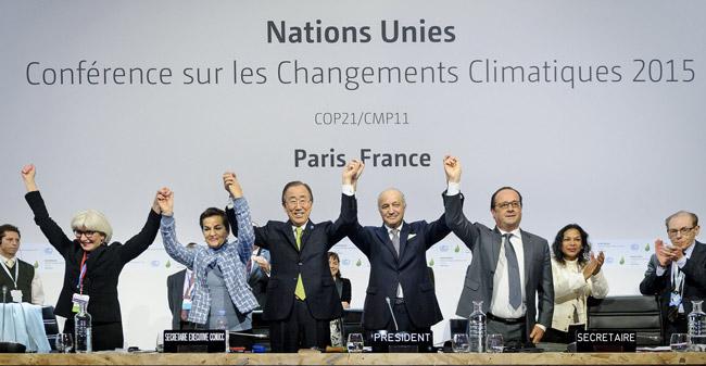 Pariški globalen podnebni sporazum / Pozitivna energija
