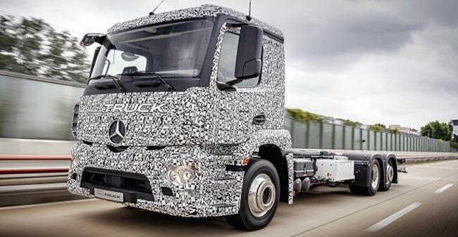 Prvi električni tovornjak na svetu