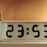 Vemo, da čas teče. Kaj pa ura, ki teče – dobesedno!?