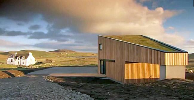 Energijsko varčna hiša - Hiša, ki te objame, zaščiti in potolaži