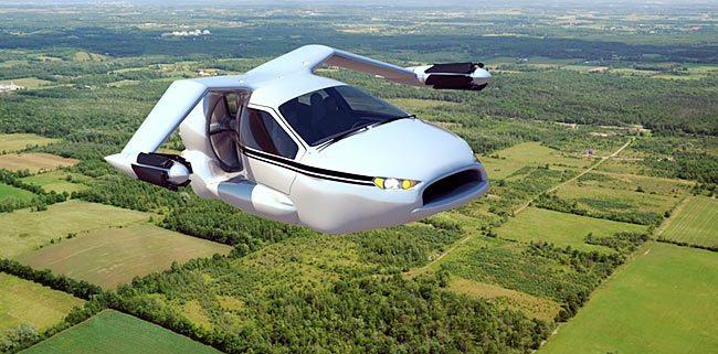 Leteči avto