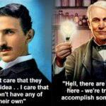 Tesla in Edison sta postavila temelje ...