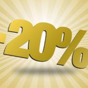Prihranite nad 20 % pri računu za električno energijo