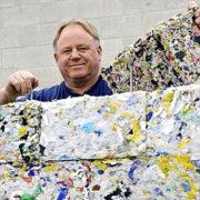 Energetsko učinkovita Lego hiša iz odpadne plastike