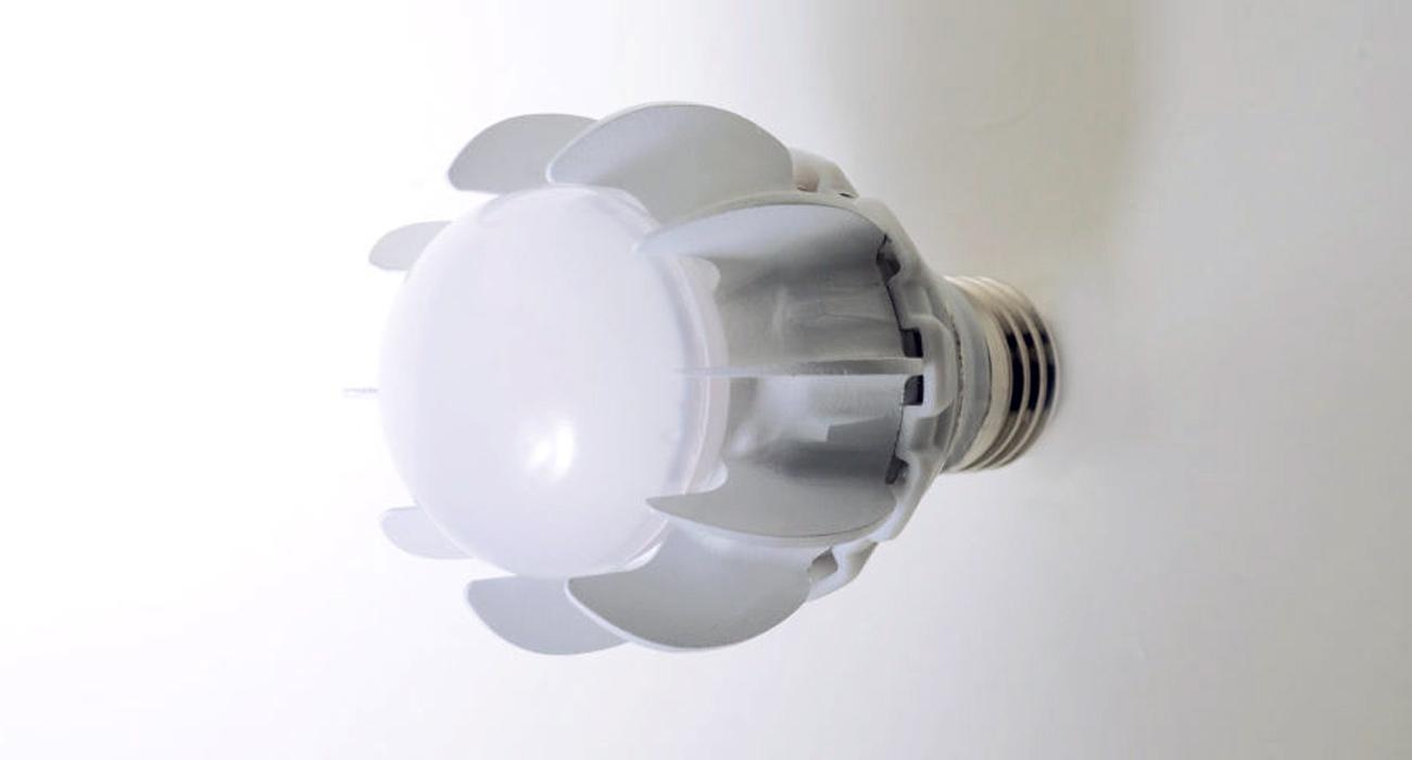 Prva LED-sijalka na svetu, ki se hladi z zračno črpalko