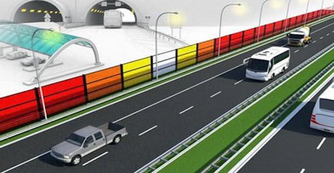 Protihrupne ograje ob avtocesti so lahko hkrati tudi elektrarne!