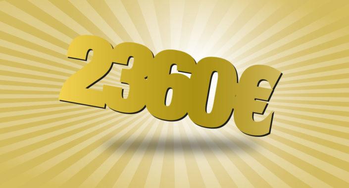 Prihranite 2.360 € na leto!