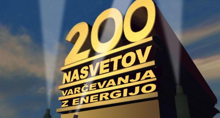 Dober nasvet - 200 nasvetov za varčevanje z energijo