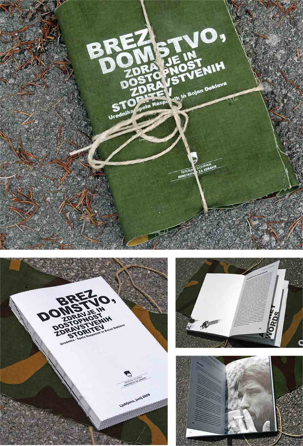 Knjiga Brezdomci / Book Homeless