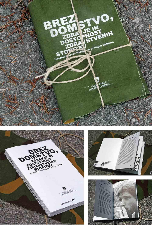 Knjiga Brezdomci / Book Homeless