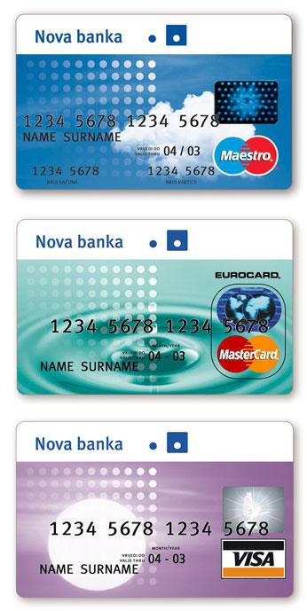 Kreditne kartice / Credit cards