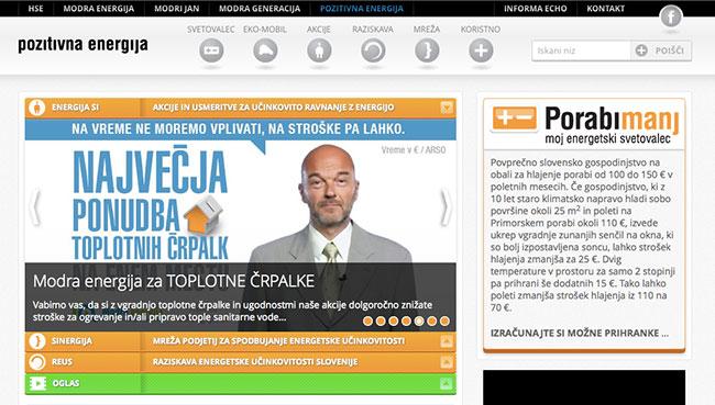 Spletna stran / Web page
