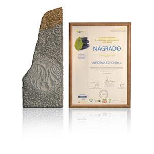 2013 Slovenska nagradaza najboljšipromocijski projekt URE, OVE / Informa Echo