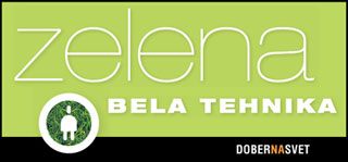 Zelena bela tehnika / Green White Household Appliances