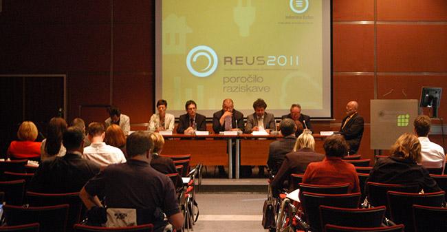 Predstavitev rezultatov REUS 2011