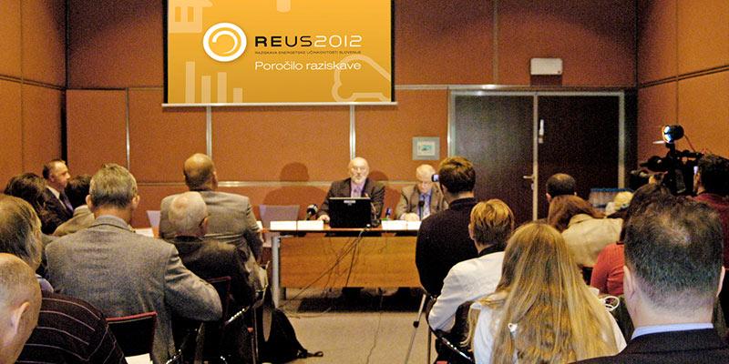 Predstavitev rezultatov REUS 2012