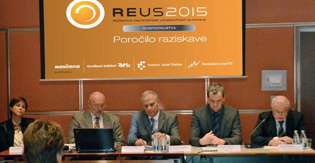 Predstavitev rezultatov REUS 2015