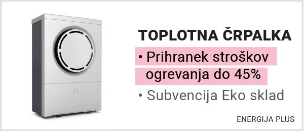 Energija Plus / Toplotna črpalka