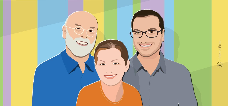 Team Informa Echo / Rajko, Olivera, Branko