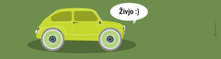 Oxygen: Zelene pnevmatike, ki dihajo in komunicirajo / Pozitivna energija
