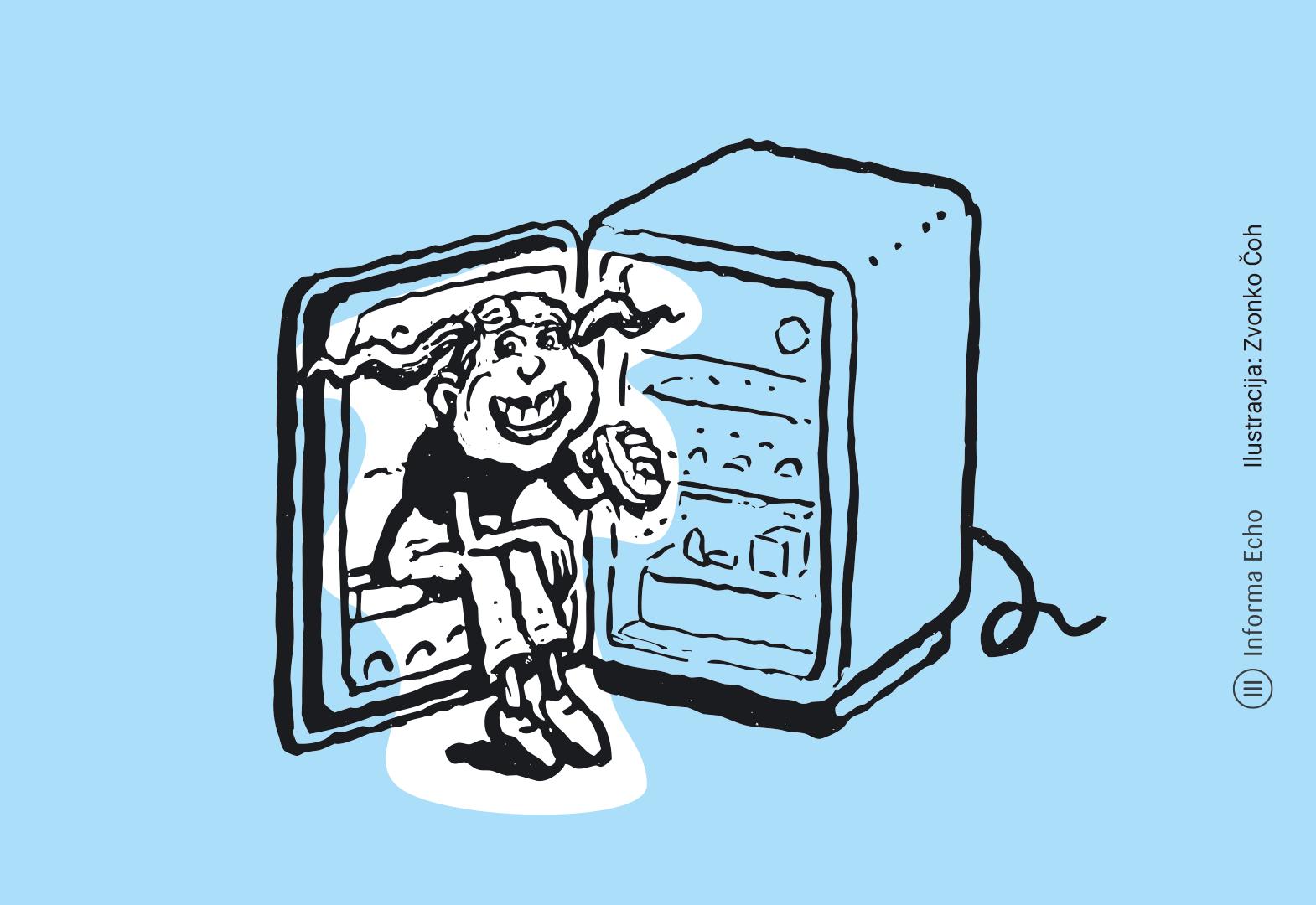 Optimalna temperatura v hladilniku je približno 5 °C / Ilustracija: Zvonko Čoh