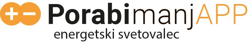 Logo PorabimanjAPP - energetski-svetovalec / Pozitivna energija